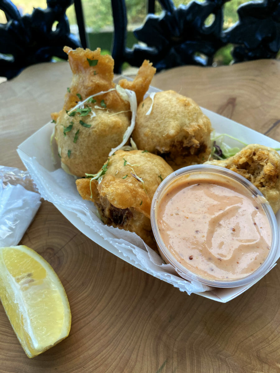 Crab Beignets with Remoulade